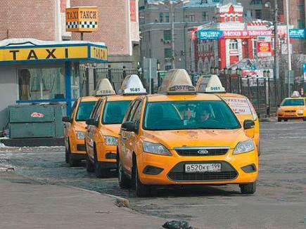 Новости такси - сокращение нелегальных перевозчиков