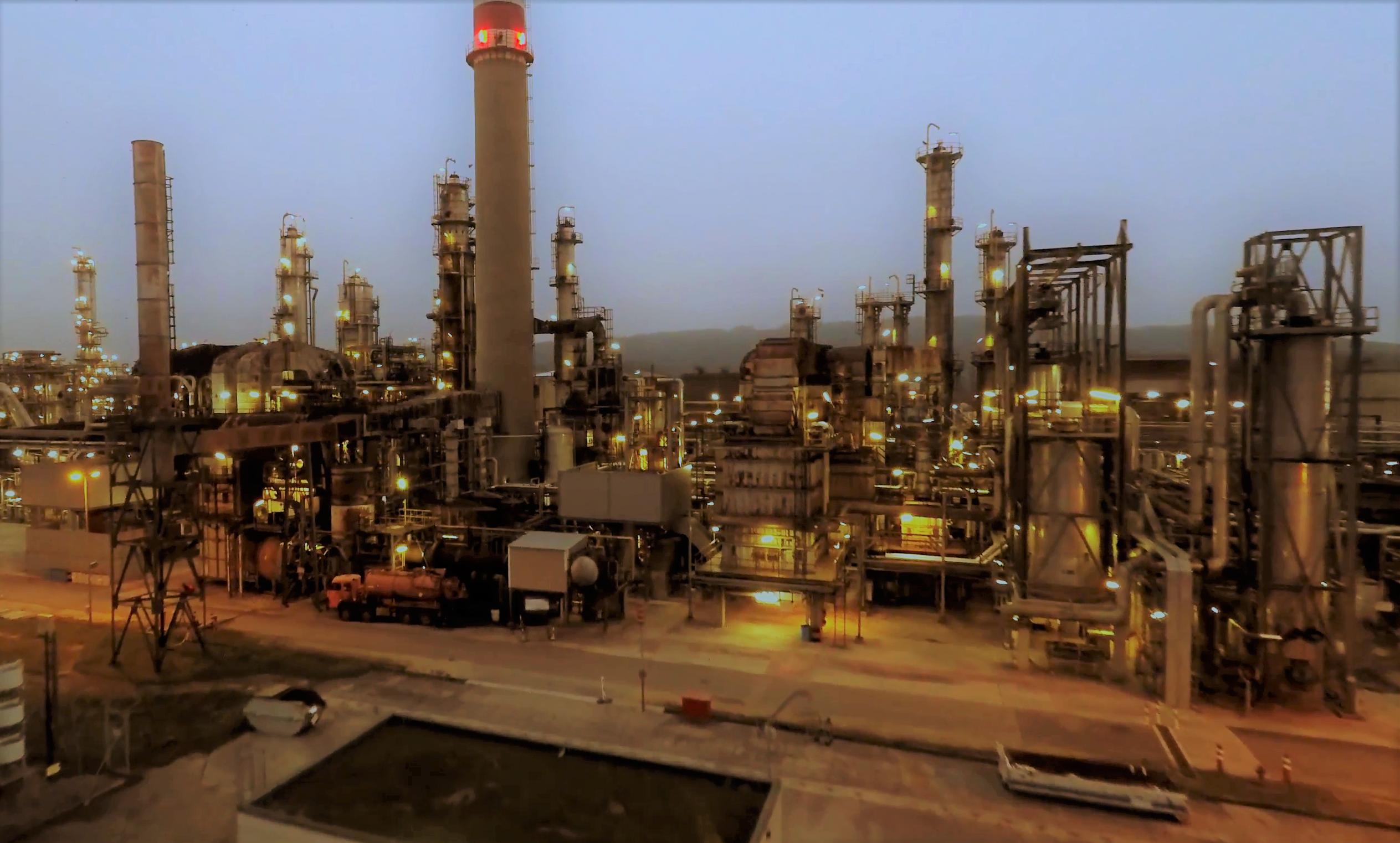 производство нефтепродуктов